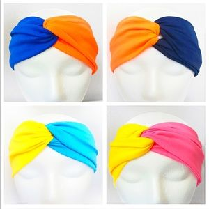 Two Color Twist Stretchy Headband